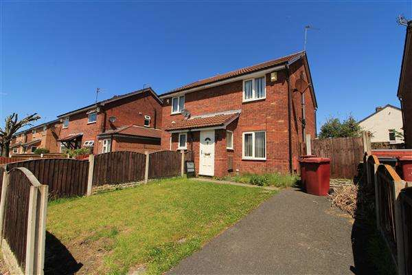 2 Bedrooms Semi Detached House for sale in Mollington Road, Kirkby
