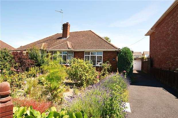 2 Bedrooms Semi Detached Bungalow for sale in Pickering Road, LECKHAMPTON, GL53 0LF