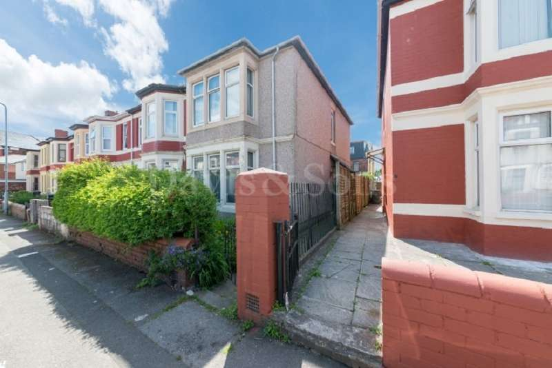 3 Bedrooms End Of Terrace House for sale in St. Vincent Road, Off Corporation Road, Newport. NP19 0AN