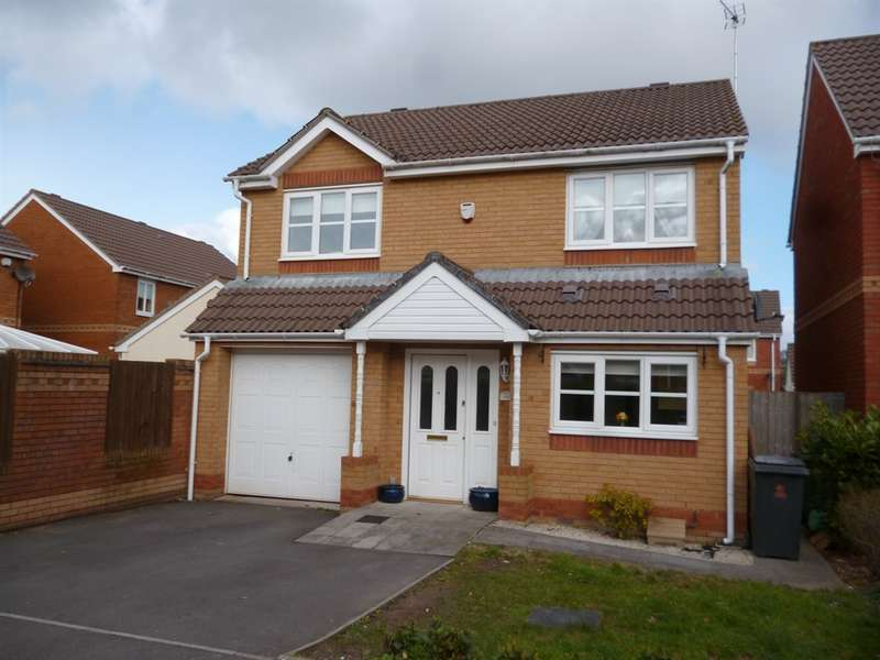 4 Bedrooms Detached House for sale in Spencer David Way, St. Mellons, Cardiff