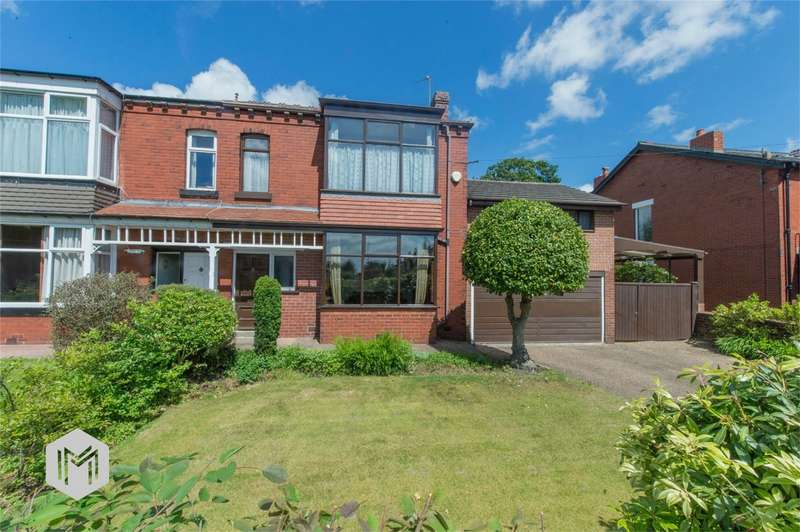 4 Bedrooms Semi Detached House for sale in Markland Hill Lane, Heaton, Bolton, Lancashire