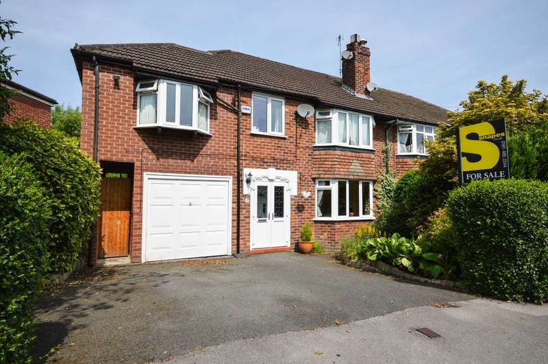 4 Bedrooms Semi Detached House for sale in Glandon Drive, Cheadle Hulme