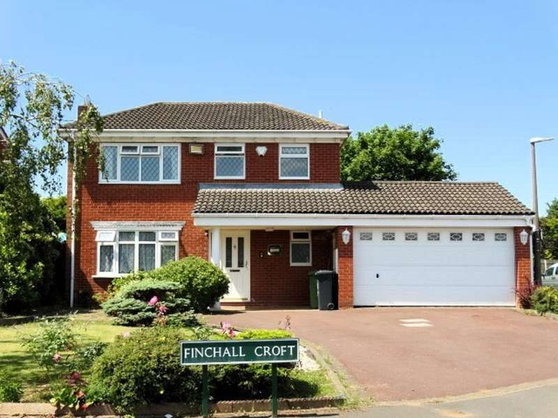 4 Bedrooms Detached House for sale in Finchall Croft, Solihull