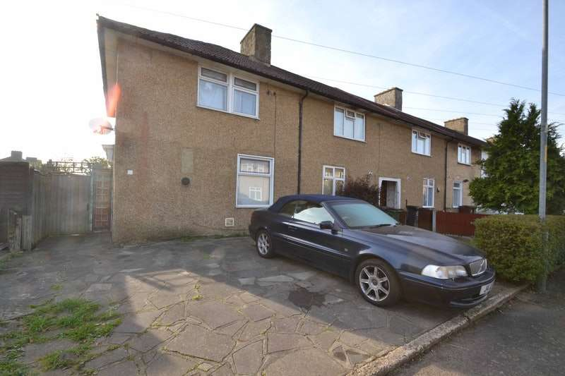 3 Bedrooms End Of Terrace House for sale in Sheldon Road, Dagenham, Essex, RM9