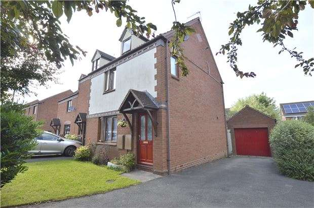 3 Bedrooms Town House for sale in Stonehill, Tewkesbury, Gloucestershire, GL20 5FA