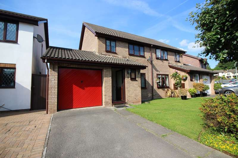 3 Bedrooms Semi Detached House for sale in Gobannium Way, Ysbytty Fields, Abergavenny, NP7