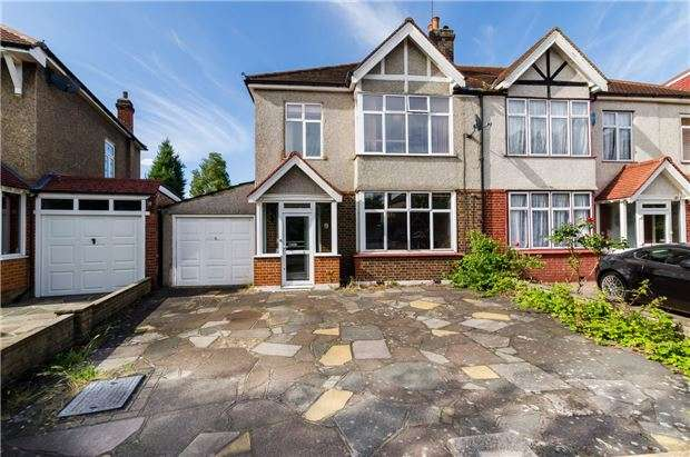 3 Bedrooms Semi Detached House for sale in Cranleigh Road, MERTON PARK, SW19 3LU