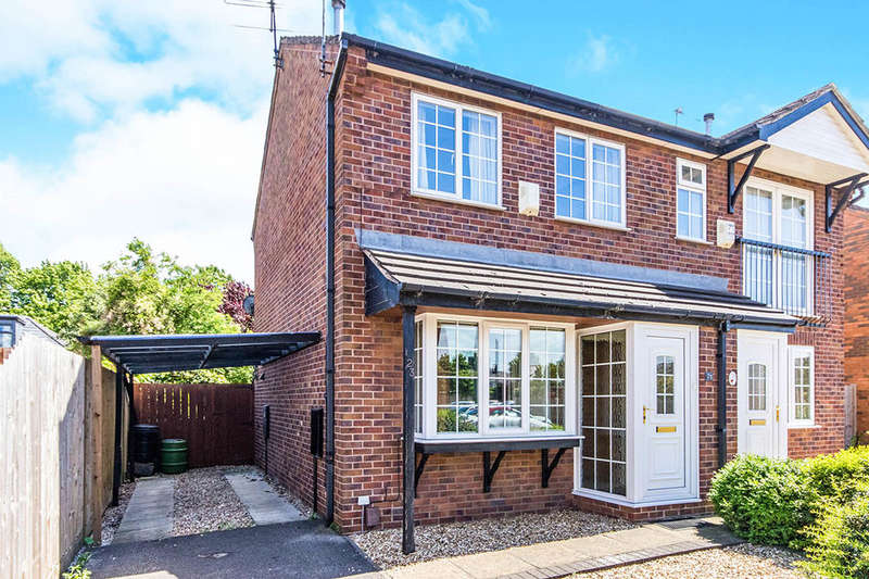 2 Bedrooms Semi Detached House for sale in Roman Wharf, Lincoln, LN1