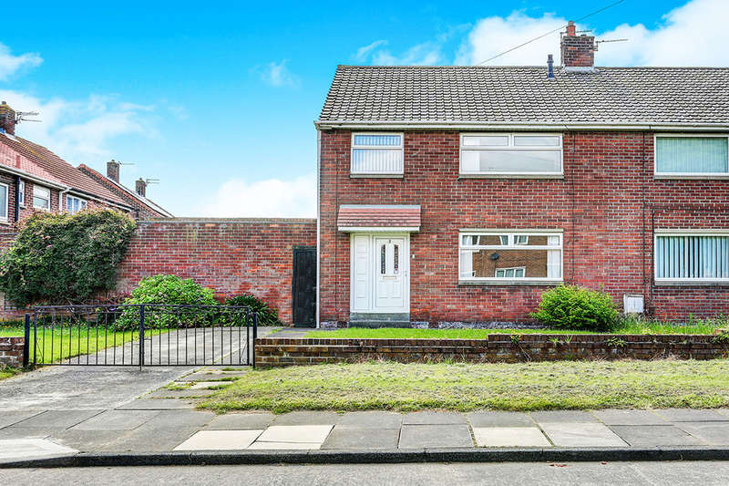 3 Bedrooms Semi Detached House for sale in Lilburn Road, Shiremoor, NEWCASTLE UPON TYNE, NE27