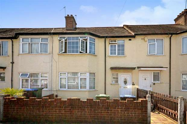 3 Bedrooms Terraced House for sale in Central Road, WEMBLEY, Middlesex