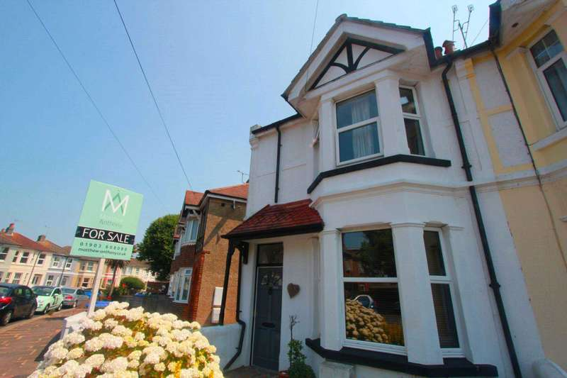 3 Bedrooms End Of Terrace House for sale in Wigmore Road, Worthing
