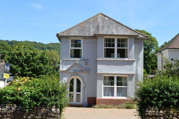 4 Bedrooms Detached House for sale in Vicarage Road, Sidmouth, Devon