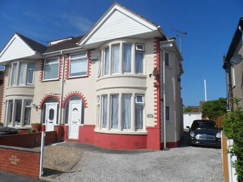 3 Bedrooms Semi Detached House for sale in Lyddesdale Avenue, Cleveleys, FY5 3EL