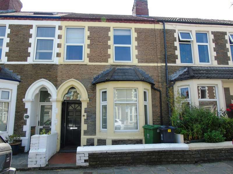 2 Bedrooms Terraced House for sale in Lisvane Street, Cardiff