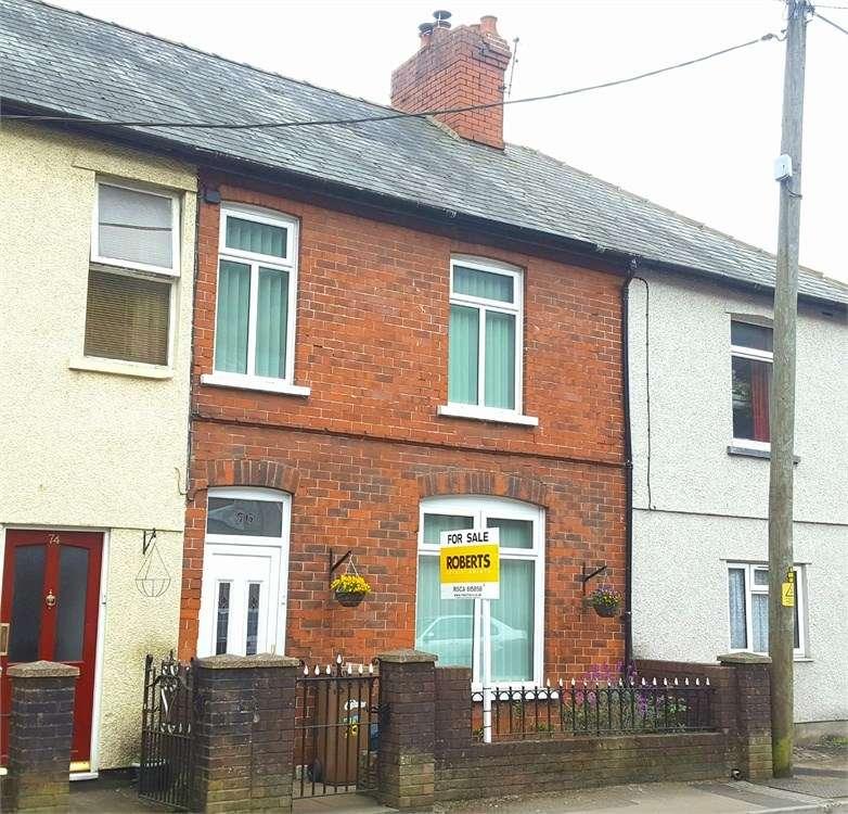 3 Bedrooms Terraced House for sale in Gladstone Street, Cross Keys, Newport, NP11