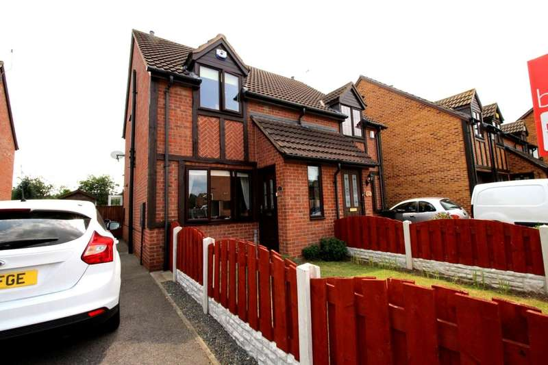 2 Bedrooms Semi Detached House for sale in Arlott Way, Edlington, Doncaster, DN12