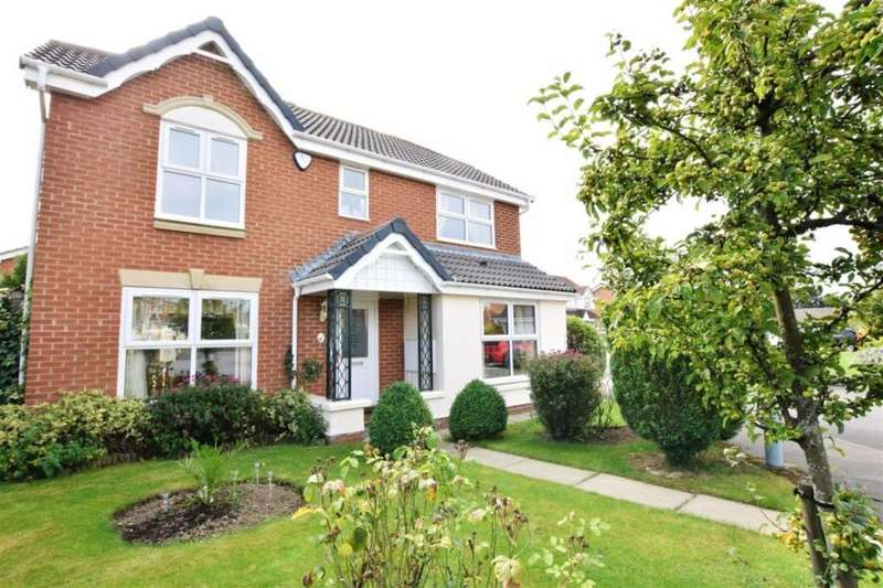 4 Bedrooms Detached House for sale in Trevithick Close, Eaglescliffe, Stockton-On-Tees, TS16