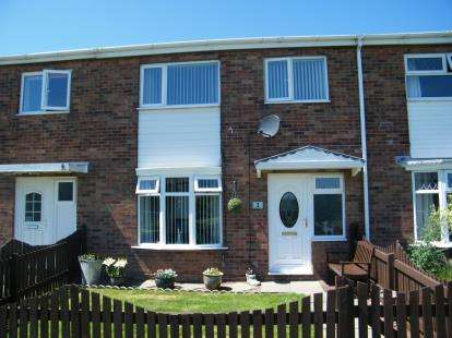 3 Bedrooms Terraced House for sale in Fountains Close, Whitby, North Yorkshire