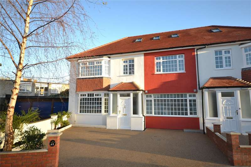 5 Bedrooms Semi Detached House for sale in Rectory Gardens, Crouch End, London, N8
