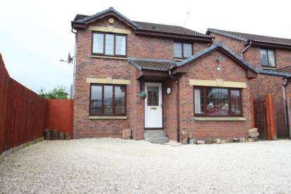3 Bedrooms Detached House for sale in Foinaven Gardens, Thornliebank