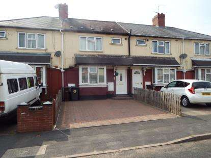 3 Bedrooms Terraced House for sale in Millington Road, Wolverhampton, West Midlands