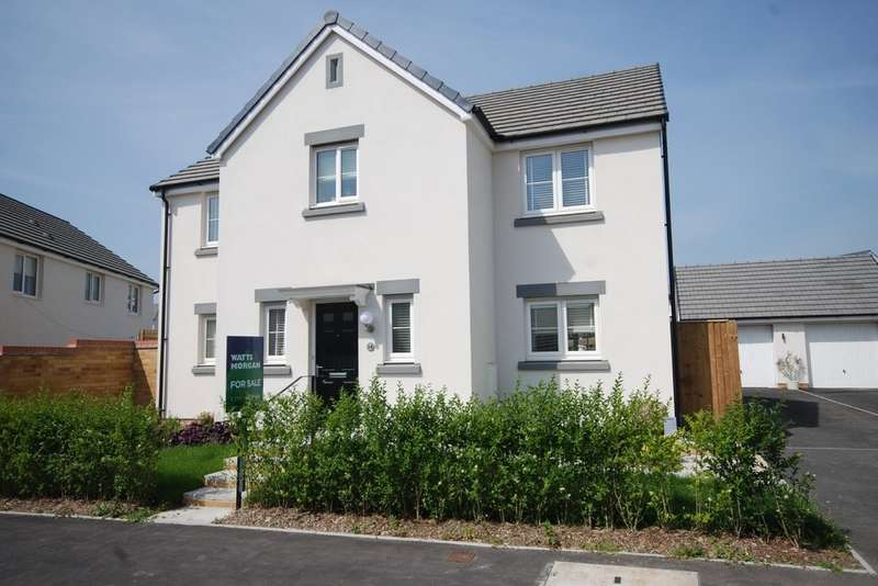 4 Bedrooms Detached House for sale in Badgers Brook Rise, Ystradowen, Cowbridge, Vale of Glamorgan, CF71 7TW
