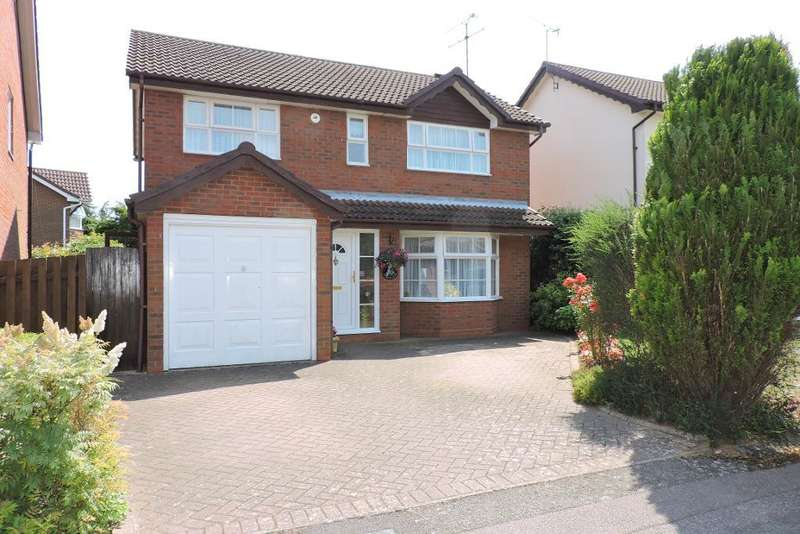 4 Bedrooms Detached House for sale in Sworder Close, Luton, Bedfordshire, LU3 4BJ
