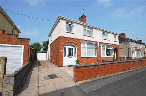 3 Bedrooms Semi Detached House for sale in Dimsdale View East, Porthill, Newcastle-under-Lyme