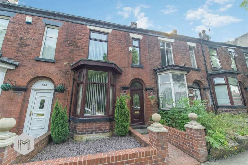 3 Bedrooms Terraced House for sale in Radcliffe Road, The Haulgh, Bolton, Lancashire