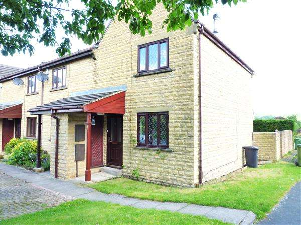 2 Bedrooms End Of Terrace House for sale in Grassmoor Fold, Honley, Holmfirth
