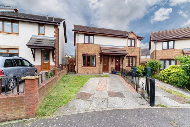 2 Bedrooms Semi Detached House for sale in Alemoor Crescent, Restalrig, Edinburgh, EH7 6UJ