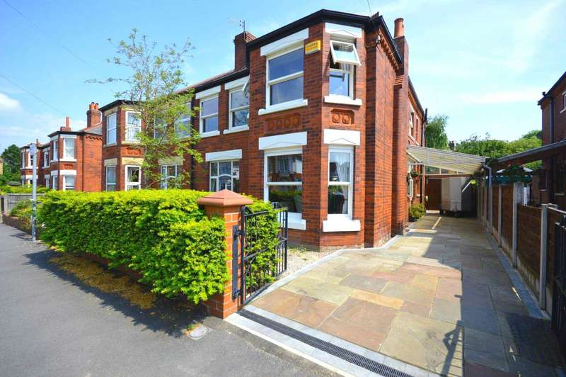 Semi Detached House for sale in Victoria Avenue, Cheadle Hulme