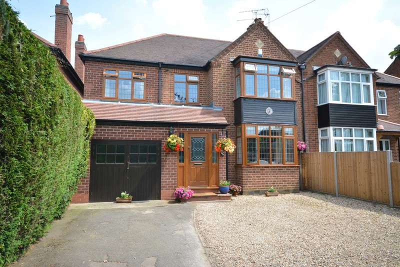5 Bedrooms Semi Detached House for sale in Hillmorton Road, Hillmorton