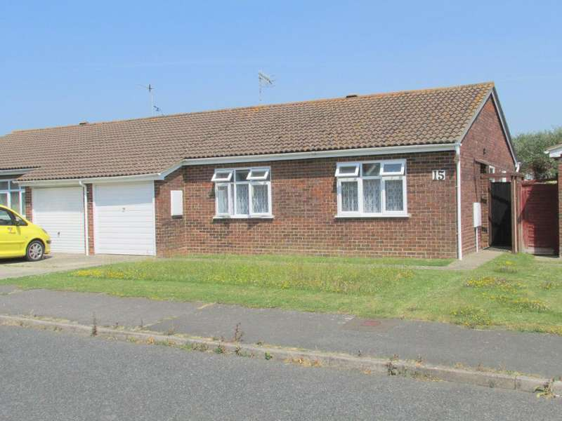 2 Bedrooms Bungalow for sale in Sunningdale Gardens, North Bersted, Bognor Regis, West Sussex, PO22 9LE