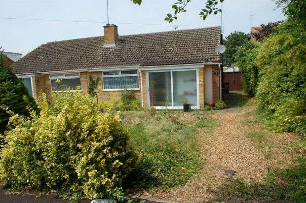 2 Bedrooms Semi Detached Bungalow for sale in Markham Close, Duston, Northampton NN5 6TW