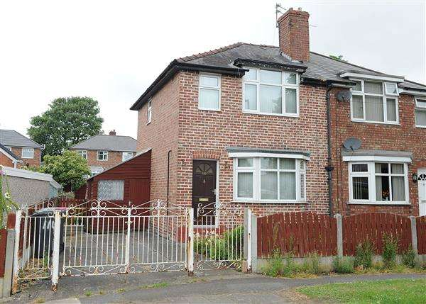 2 Bedrooms Semi Detached House for sale in 110 The Crescent, Irlam M44 6FG