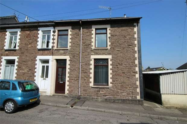 3 Bedrooms Semi Detached House for sale in 1 Tynewydd Road, CWMBRAN, Torfaen