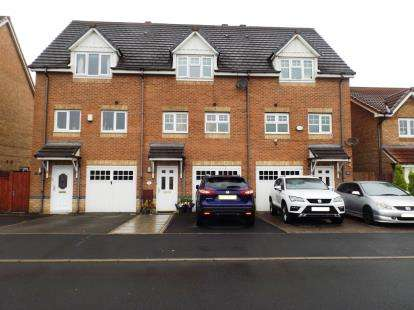 3 Bedrooms Terraced House for sale in Madison Park, Westhoughton, Bolton, Greater Manchester, BL5