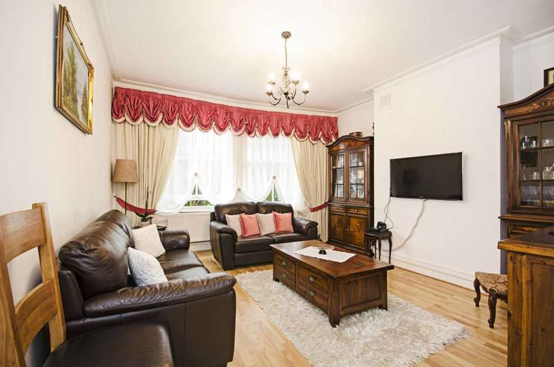 2 Bedrooms Flat for sale in Crouch Hill, Stroud Green, N4