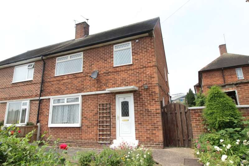3 Bedrooms Semi Detached House for sale in Caterham Close, Nottingham, NG8
