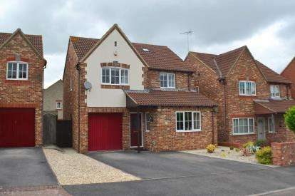 4 Bedrooms Detached House for sale in Springdale Close, Hardwicke, Gloucester, Gloucestershire