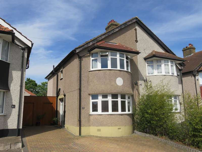 3 Bedrooms Semi Detached House for sale in Seaton Road, Welling, Kent, DA16 1DT