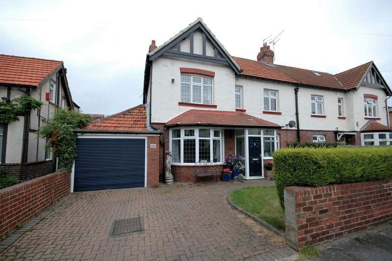 4 Bedrooms Semi Detached House for sale in St. Georges Crescent, Whitley Bay, Tyne and Wear, NE25
