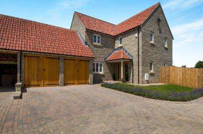 4 Bedrooms Detached House for sale in Lime Kiln Court, Itchington, Alveston, Bristol