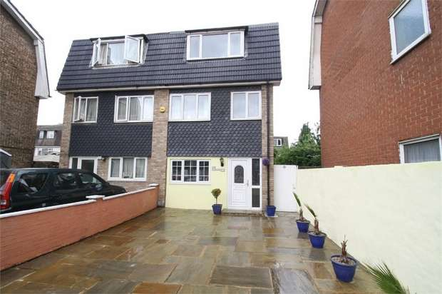 4 Bedrooms Terraced House for sale in Atkinson Road, Custom House, London