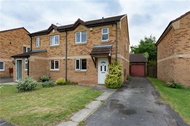 3 Bedrooms Semi Detached House for sale in Ebsay Drive, Clifton Moor, YORK