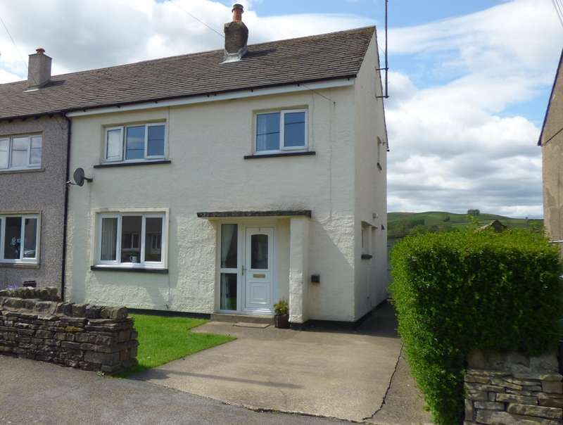 3 Bedrooms Semi Detached House for sale in 9 Little Ings, Gayle Nr Hawes