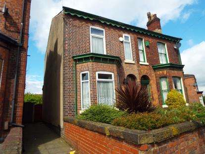 3 Bedrooms Semi Detached House for sale in Worsley Road, Eccles, Manchester, Greater Manchester