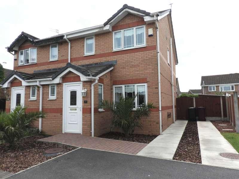 3 Bedrooms Semi Detached House for sale in Douglas Way, Shevington Park