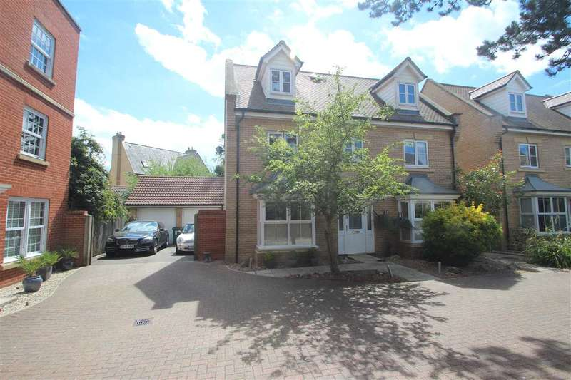 5 Bedrooms Detached House for sale in Septimus Drive, Myland, Colchester